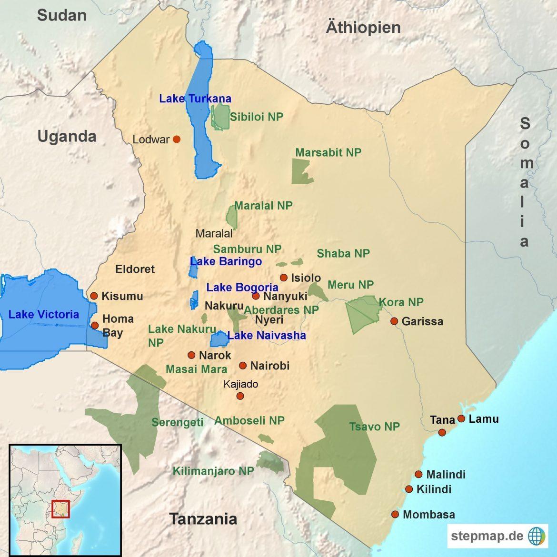 Malaria Kenia Karte.Kenia Hautnah Danesafari Afrika Reisen